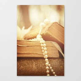 Words Well Loved Canvas Print