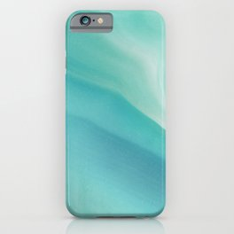 Geode Crystal Turquoise iPhone Case