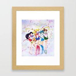 Sailor Moon 25th Framed Art Print