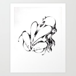 Reclining Figure I (Ecstasy) Art Print