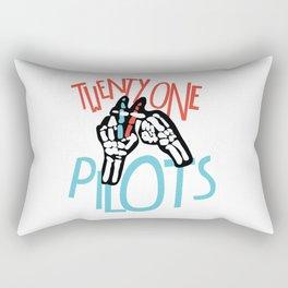 Twenty onepilots Rectangular Pillow