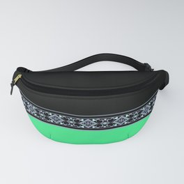 Neon green , green and black Fanny Pack