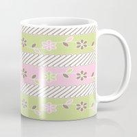 batik Mugs featuring Batik  by Franciska Windy