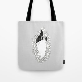 Yarrow - Floral Hand Illustration Tote Bag