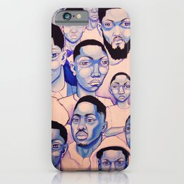 Black Boy Blues iPhone Case