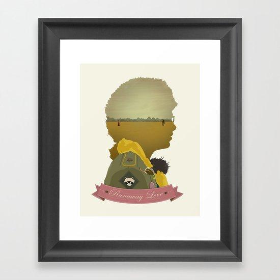 Runaway Love Framed Art Print