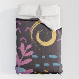 Abstract Pattern Modern Art 16 Comforters