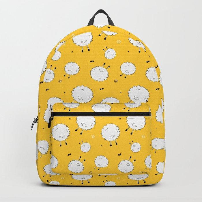 Funny sheep Backpack