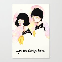 You are always home Canvas Print