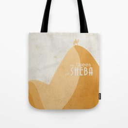Queen of Sheba, André Malraux, book cover, Yemen, travel, adventure, wanderlust, travelling stories Tote Bag