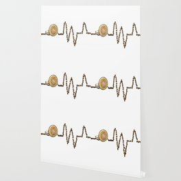 Coffee Heartbeat Wallpaper