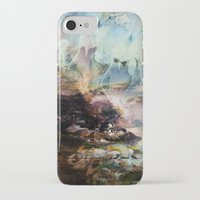 novelty iPhone & iPod Cases featuring Morning Seashore Abstract by Moody Muse