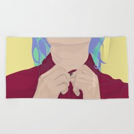 Job Interview Beach Towel