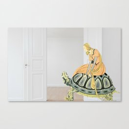 Patience As A Virtue Canvas Print