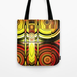 Fractured Ring 12 Tote Bag