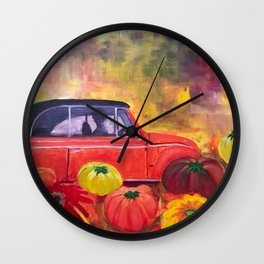 Lonnie's Bug Wall Clock
