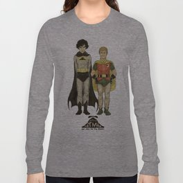 The Adventures of Hat-man and John the Boy Wonder Long Sleeve T-shirt