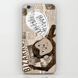 Bizarro Monkey iPhone Skin
