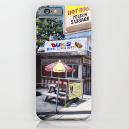 Chicago Style: Duk's Redhots  iPhone Case
