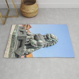 Imperial Guardian Lion, Beijing Rug
