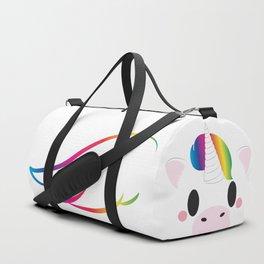 Unicorn Block Duffle Bag