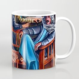 Old Arabic Coffee Shop Coffee Mug