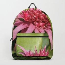 Pink Bromeliad Backpack
