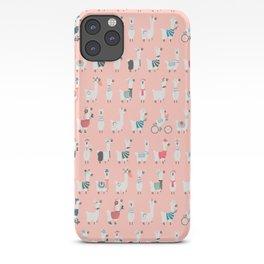 Cool llamas iPhone Case