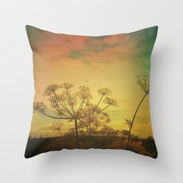 Summer Enchantment Love Throw Pillow