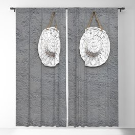 Grey Moments Blackout Curtain