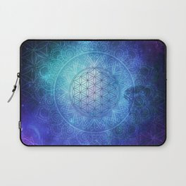 Deep Space Sacred Geomery Laptop Sleeve