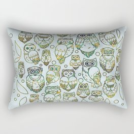 Decorative Owls Rectangular Pillow