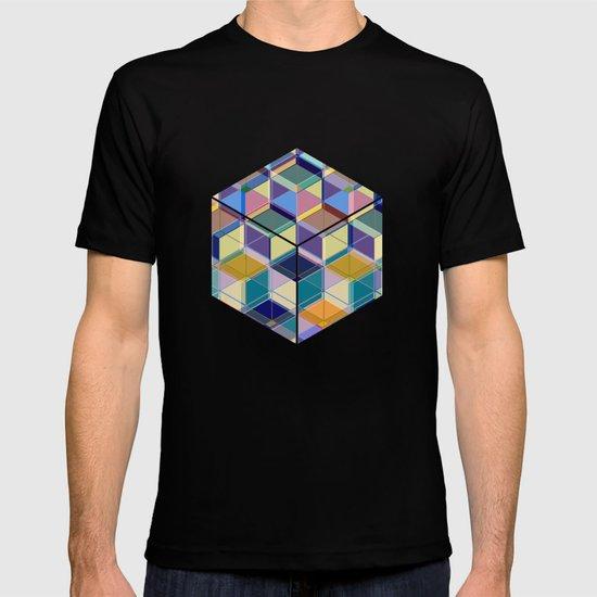 Cube Geometric VIII T-shirt
