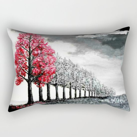 The rain is coming Rectangular Pillow
