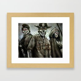 dead inside Framed Art Print