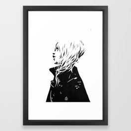 black & white III Framed Art Print