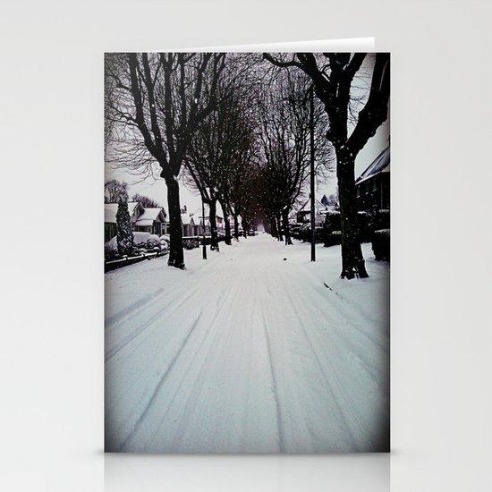 Urban Winter Stationery Cards
