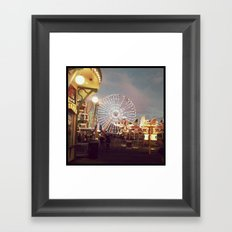 Rides Framed Art Print