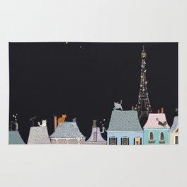 Cats in Paris Rug