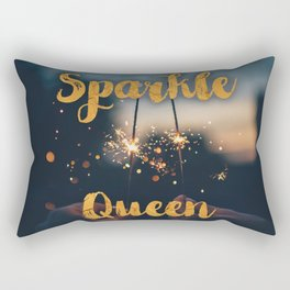Sparkle Queen Rectangular Pillow