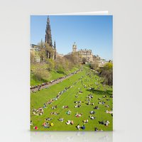 edinburgh Stationery Cards featuring Edinburgh by Sierra Whiskey Bravo