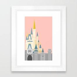 Cinderella Castle  Framed Art Print