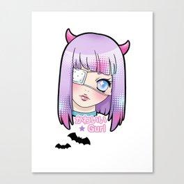 Kawaii Gurl Canvas Print