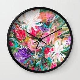 Flora Flora Wall Clock