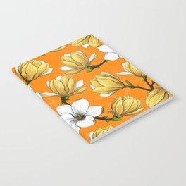Magnolia garden in yellow Notebook