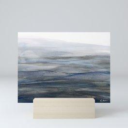 Water Study 5 in Gouache Mini Art Print