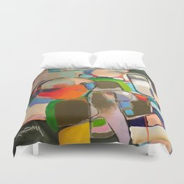 Saving for a Rainy Day in Egypt Duvet Cover