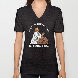 Are You There God It's Me You Unisex V-Neck