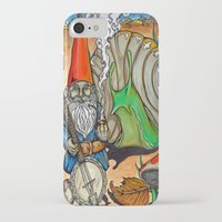 gnome iPhone & iPod Cases featuring Gnome by Steven Suiter