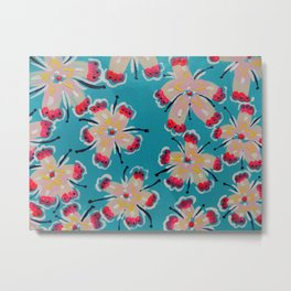 Georgia Lilly Metal Print